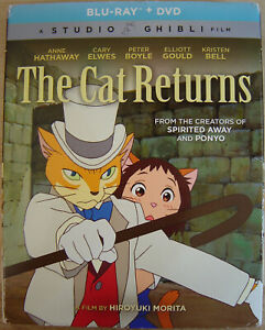 The Cat Returns Blu-Ray+ DVD 2-Disc Set (2015, Studio Ghibli)