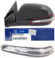 SANTA FE 2013-18 Outside Side Mirror ONLY Signal Light Repeater Lamp LEFT DRIVER
