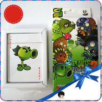 Hot Playing Cards Game Plants vs Zombies Anime Cartoon Paper Poker Cards In Box