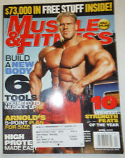 Muscle & Fitness Magazine Jay Cutler & 6 Tools You Need April 2005 031915R