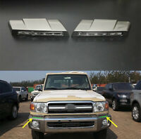 LED Front Bumper Daytime Running For Toyota Land cruiser LC70 LC71 LC76 LC79