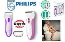 DEPILATORE DONNA & UOMO PHILIPS HP6341 LADYSHAVE WET & DRY A BATTERIE