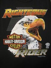 Vintage1988 Harley Davidson Speed Limit 70 Tank Top Med thin eagle righteous rr