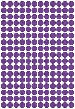 204 x polka dot/Spot/Circle Shaped Vinyl Stickers, 1.5cm Self Adhesive. Crafting