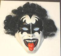 KISS VINTAGE GENE SIMMONS MASK - 1980 AUCOIN AUSTRALIA