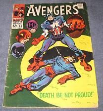AVENGERS #56 VG- (3.5) 12¢ cover Marvel Comic |