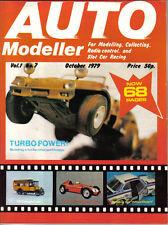 Auto Modeller Vol 1 No 7 Oct 1979 Lancia-Ferrari D50 IMAI Dune Buggy BMW 3.5 CSL