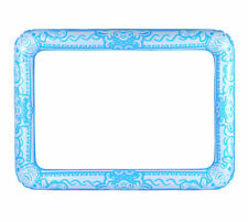 Inflatable Blue Photo Frame - Giant Photo Booth Prop Selfie Gift Blow Up Wedding