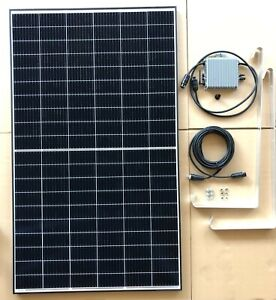 BKKW 375 Watt Balkonkraftwerk Mini PV Photovoltaik Solaranlage inkl. Halterung