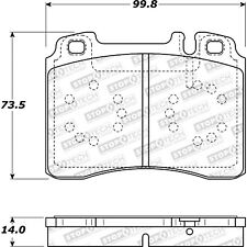 Disc Brake Pad Set-Base Front Stoptech 308.05611