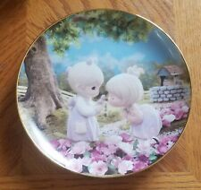 Enesco Precious Moments Collector Plate - Good Friends Are Forever (1994)
