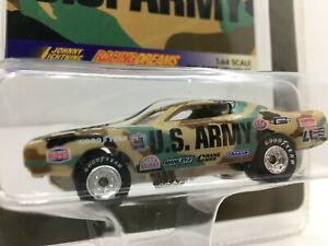 Johnny Lightning **Racing Dreams Dragster* U.S. ARMY* RARE  ** 1/64 *
