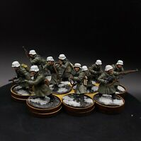 Pro Painted 28mm Bolt Action German Winter grenadiers ×10 Squad #3 ww2