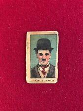 "1922, Charlie Chaplin, ""Strip Card"" (Scarce) ""The Little Tramp"""