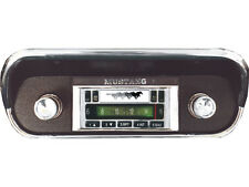 1967-1973 Ford Mustang Custom Autosound Radio - Chrome Face
