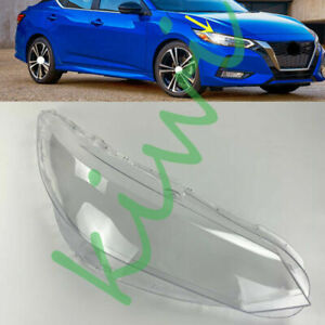 For Nissan Sentra 2020-2021 Right Side Headlight Clear Cover + Glue Replace