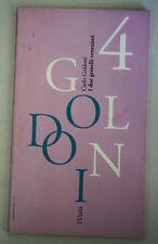 I DUE GEMELLI VENEZIANI Carlo Goldoni 1993 L'Unità 4 N20