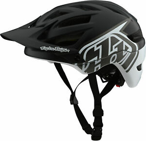 Troy Lee Designs A1 MIPS Bike Helmet Classic Black/White
