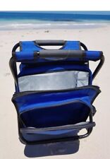 Fishing Chair Blue Seat Backpack Esky
