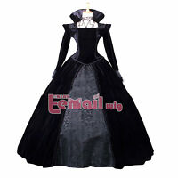 European Renaissance Medieval Vintage Victorian Queen's Cosplay Dress Costume