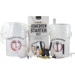 5 Gallon Home Brew Starter Kit ~ Homebrew Making Beer, Wine, Cider, Mead