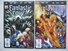 FANTASTIC FOUR THE END  N° 1 A 6 RUN COMPLET VO NEUF NEAR MINT / MINT