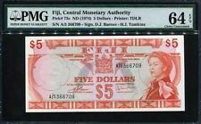 Fiji 10 dollars 1872 UNC Reproduction
