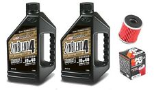 K&N oil filter & Maxima SynBlend 10W40 service kit Yamaha YZ250FX 2015-2016