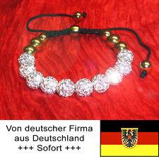 Shambhala Luxus Armband in Gold, ein sehr schönes Geschenk