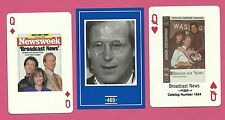 Broadcast News William Hurt Albert Brooks Holly Hunter Fab Card Collection