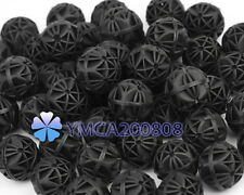 Filtro Purificador 50x Bio bolas Biológicas 16mm para Acuario Agua Pez Pecera