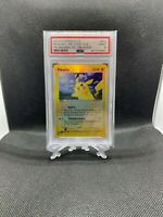 Pokemon PSA 9 Pikachu Reverse Foil Team Magma vs Team Aqua #43/95 Gem Mint