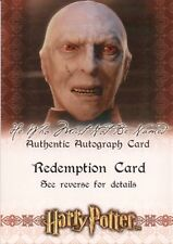 Harry Potter & The Sorcerer's Stone, Richard Bremmer Auto Redemption Card