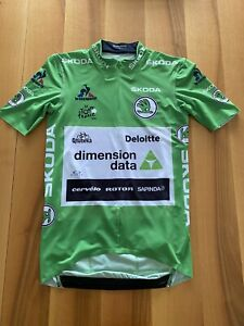 Mark Cavendish 2016 Tour De France Green Jersey Dimension Data Cycling Original