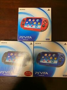PS Vita PCH-1000 Sony Playstation Various colors accessories Complete【Excellent】