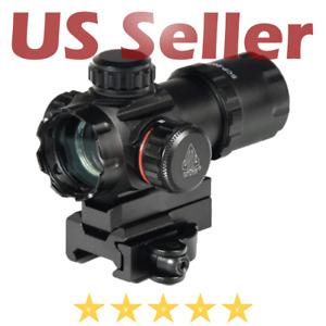 "UTG Leapers Tactical 3.9"" ITA Red Green CQB Micro Dot QD Mount Reflex Scope"