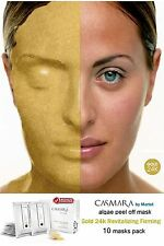 CASMARA facial mask 10 GOLD 24k REVITALISE,FIRMING LIFTING peel off face masks