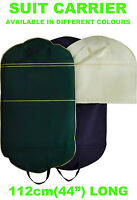 "NEW 44"" SUIT CARRIER COVER BAG TRAVEL STORAGE HANDLES POCKET WATERPROOF DRESS"