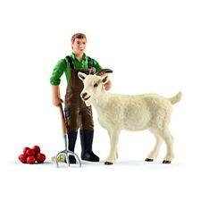 Schleich 42375 Farm-world Bauer mit Ziege