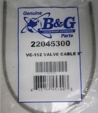 "B G Valve Sprayer Cable 22045300 VC-152 8"" Brand New Free Shipping!"