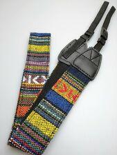 Kameragurt Textil Gurt bunt gemustert verstellbar für DSLR SLT Kamera