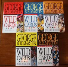 George R.R. Martin's Wild Cards Super-Sized Edition #1-5 Paperback Brian Bolland