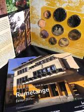 """1x Coffret BU (9 pièces) série Luxembourg 2021 """"Rumelange"""" Type I (neuf)"""