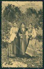 Palermo Costumi Siciliani cartolina QQ0897