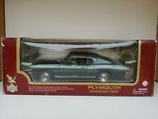 1/18 Road Legends 92178 by Yat Ming 1969 Plymouth Barracuda