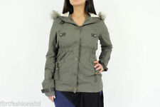 Regular Size Cotton Parkas for Women