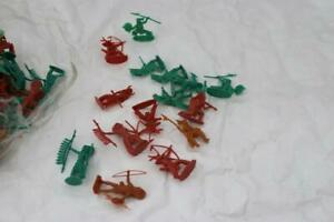 Large Lot of Marx Indians Toy Soldiers