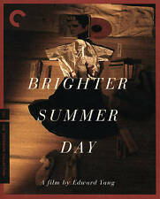 A Brighter Summer Day (Blu-ray Disc, 2016, 2-Disc Set, Criterion Collection)
