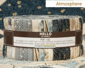 Satsuki Atmosphere Jelly Roll By Robert Kaufman Quilt Fabric