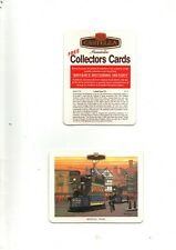 More details for 2 dif castella panatellas beer mats (card) bristol tram & leyland titan td1 ex